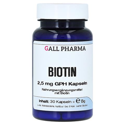 BIOTIN 2,5 mg GPH Kapseln 30 Stück