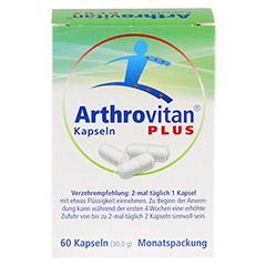 ARTHROVITAN Plus Kapseln 60 Stück - Rückseite
