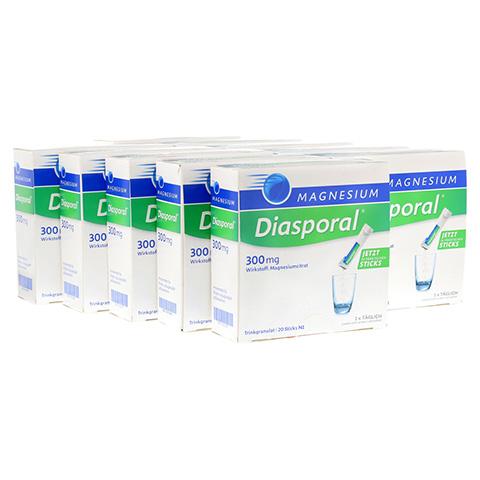 MAGNESIUM DIASPORAL 300 mg Granulat 10x20 Stück