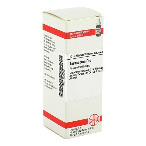 TARAXACUM D 6 Dilution 20 Milliliter N1