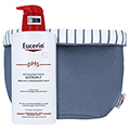 EUCERIN pH5 Lotion F empfindliche Haut m.Pumpe + gratis Eucerin Bad-Korb 400 Milliliter