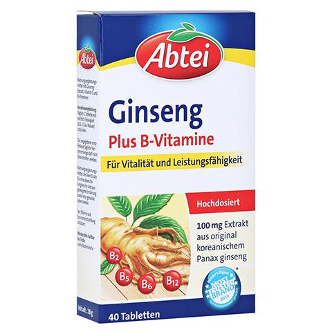 ABTEI Ginseng (Plus B-Vitamine) 40 Stück