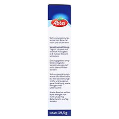 Abtei Beta-Carotin Plus Hautaktive B-Vitamine 50 Stück - Linke Seite