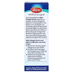 ABTEI Allergie Schutz Nasen-Gel-Spray 20 Milliliter - Rückseite