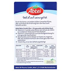 Abtei Beta-Carotin Plus Hautaktive B-Vitamine 50 Stück - Rückseite