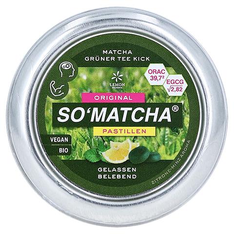 MATCHA SO'MATCHA Pastillen Grüntee Minze 40 Gramm