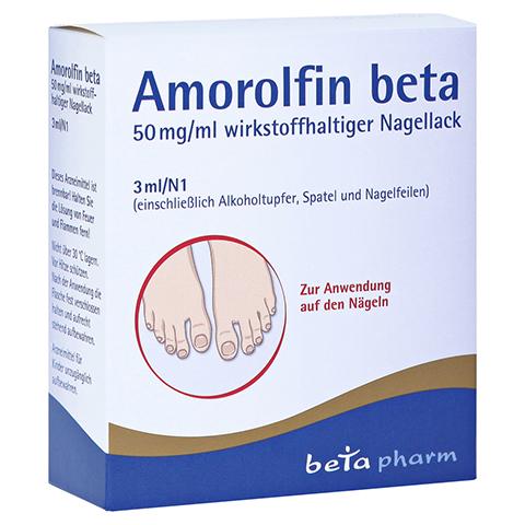 Amorolfin beta 50mg/ml 3 Milliliter N1