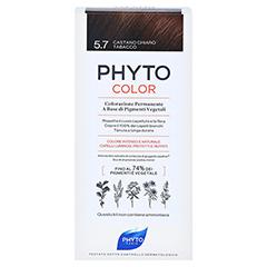 PHYTOCOLOR 5.7 HELLES KASTANIENBRAUN Pflanzliche Coloration 1 Stück - Rückseite