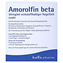 Amorolfin beta 50mg/ml 3 Milliliter N1 - Rückseite