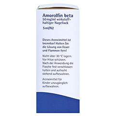 Amorolfin beta 50mg/ml 5 Milliliter N2 - Linke Seite