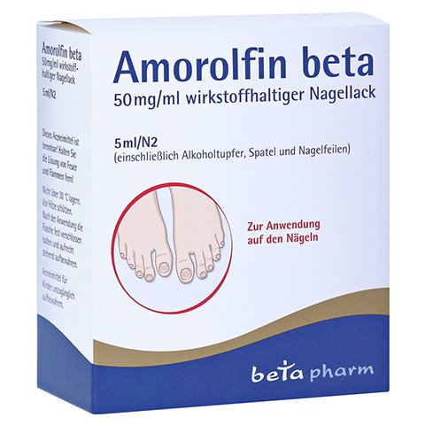 Amorolfin beta 50mg/ml 5 Milliliter N2