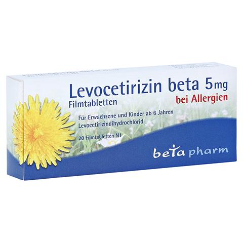 Levocetirizin beta 5mg 20 Stück N1