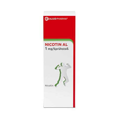 NICOTIN AL 1 mg/Sprühstoß Spray z.Anw.i.d.Mundhö. 1 Stück