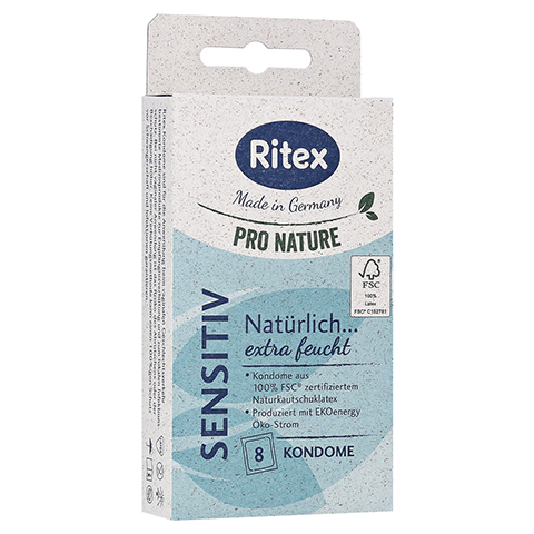 RITEX PRO NATURE SENSITIV Kondome 8 Stück