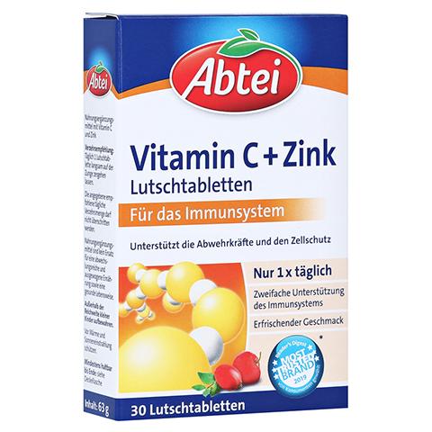 Abtei Vitamin C plus Zink Lutschtabletten 30 Stück
