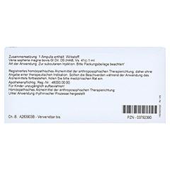 VENA SAPHENA magna GL D 5 Ampullen 10x1 Milliliter N1 - Rückseite