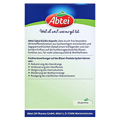 ABTEI Sabal + Kürbis (Prosta) 54 Stück - Rückseite