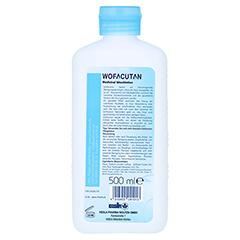 WOFACUTAN medicinal Waschlotion 500 Milliliter - Rückseite