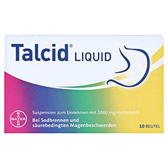 Talcid Liquid 10 Stück - Vorderseite