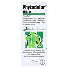 PHYTODOLOR Tinktur 100 Milliliter - Rückseite