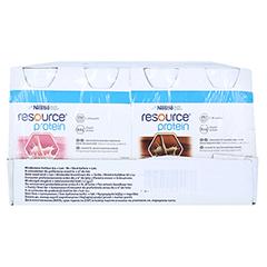 RESOURCE Protein Drink Mischkarton 24x200 Milliliter - Vorderseite