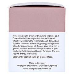 Hildegard Braukmann EXQUISIT Creme rosee vitale Nacht 50 Milliliter - Linke Seite