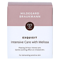 Hildegard Braukmann EXQUISIT Melissen Hautkur 50 Milliliter - Rückseite