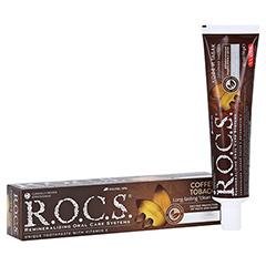 ROCS Erwachsene Kaffee+Tabak Zahnpasta 74 Gramm