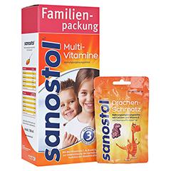 SANOSTOL Saft + gratis sanostol Drachen-Schmatz 50g 780 Milliliter