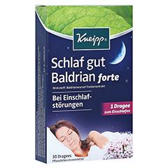 KNEIPP Schlaf gut Baldrian forte überz.Tabl. 30 Stück