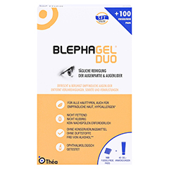 Blephagel Duo 30 g+Pads 1 Packung - Vorderseite