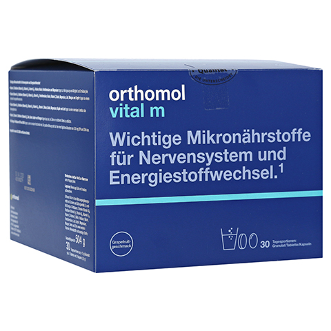 Orthomol Vital m Granulat/Tablette/Kapseln Grapefruit 30 Stück