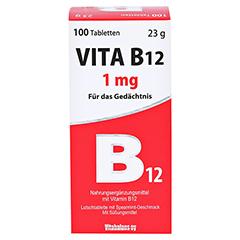 VITA B12 1 mg Minz-Aroma Lutschtabletten 100 Stück - Vorderseite