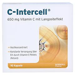 C INTERCELL Kapseln 90 Stück - Vorderseite