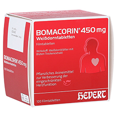 Bomacorin 450mg Weißdorntabletten 100 Stück N3
