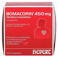 Bomacorin 450mg Weißdorntabletten 100 Stück N3 - Vorderseite
