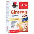 DOPPELHERZ Ginseng 200+B-Vitamine+Zink Kapseln 30 Stück