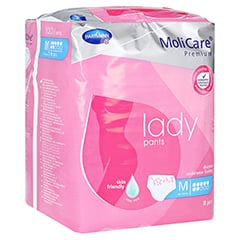 MOLICARE Premium lady Pants 7 Tropfen M 8 Stück