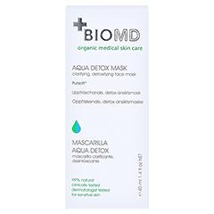 Biomed Aqua Detox Gesichtsmaske 40 Milliliter - Rückseite