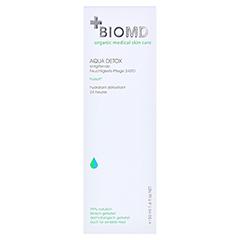Biomed Aqua Detox 24STD Feuchtigkeitspflege 50 Milliliter - Vorderseite