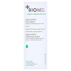 Biomed Aqua Detox Augenpflege 15 Milliliter - Rückseite