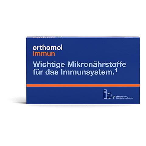 Orthomol Immun Trinkfläschchen/Tabletten 7 Stück
