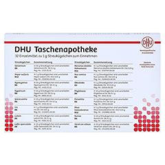 DHU Taschenapotheke Globuli 32x1 Gramm - Vorderseite