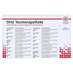 DHU Taschenapotheke Globuli 32x1 Gramm - Rückseite