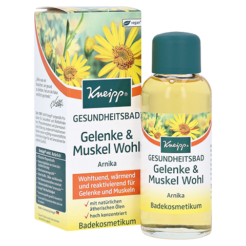 KNEIPP GESUNDHEITSBAD Gelenke & Muskel Wohl Arnika 100 Milliliter