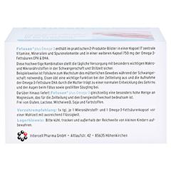 FETUSAN plus Omega-3 Kapseln 72 Stück - Unterseite