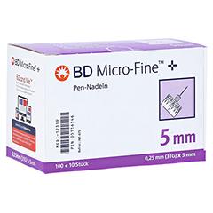 BD MICRO-FINE+ 5 Pen-Nadeln 0,25x5x110 mm 110 Stück