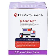 BD MICRO-FINE+ 5 Pen-Nadeln 0,25x5x110 mm 110 Stück - Linke Seite