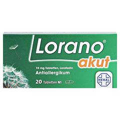 Lorano akut 20 Stück N1 - Vorderseite
