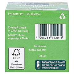KNEIPP Tee Magen Wohl Filterbeutel 10 Stück - Unterseite